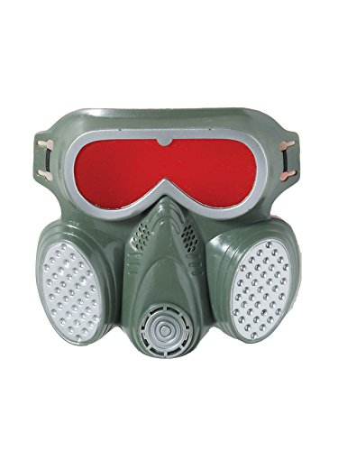 Forum Novelties Gas Mask Biohazard Costume Accessory