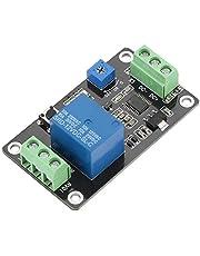Vertragingstijd relais-module vertraging aan uit zelfblokkerende timing schakelcircuit DC 5 V / 12 V / 24 V (DC12V)