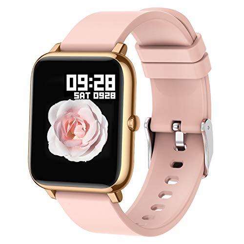 Popglory Montre connectée Femme Homme Smartwatch...