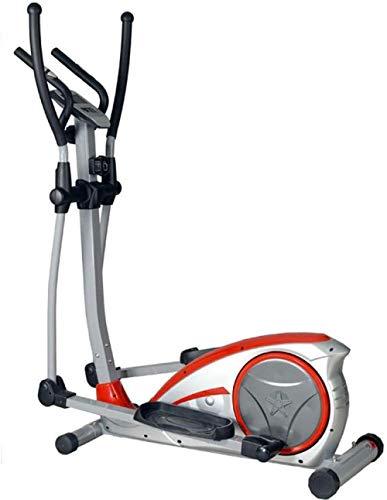 Ellipsentrainer Ellipsentrainer mit LCD-Monitor und leiser Fitness-Workout für zu Hause Fitness-Studio Ellipsentrainer Cross-Trainer (Farbe: Silber Größe: 120x67x154cm)-120 x 67 x 154 cm_Silber(Upgr