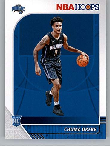 2019-20 NBA Hoops Basketball #213 Chuma Okeke Orlando Magic RC Rookie Card Official NBA Trading Card From Panini America