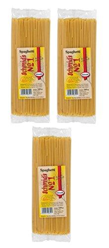 Schmids No.1, 3x formado Pasta 500g