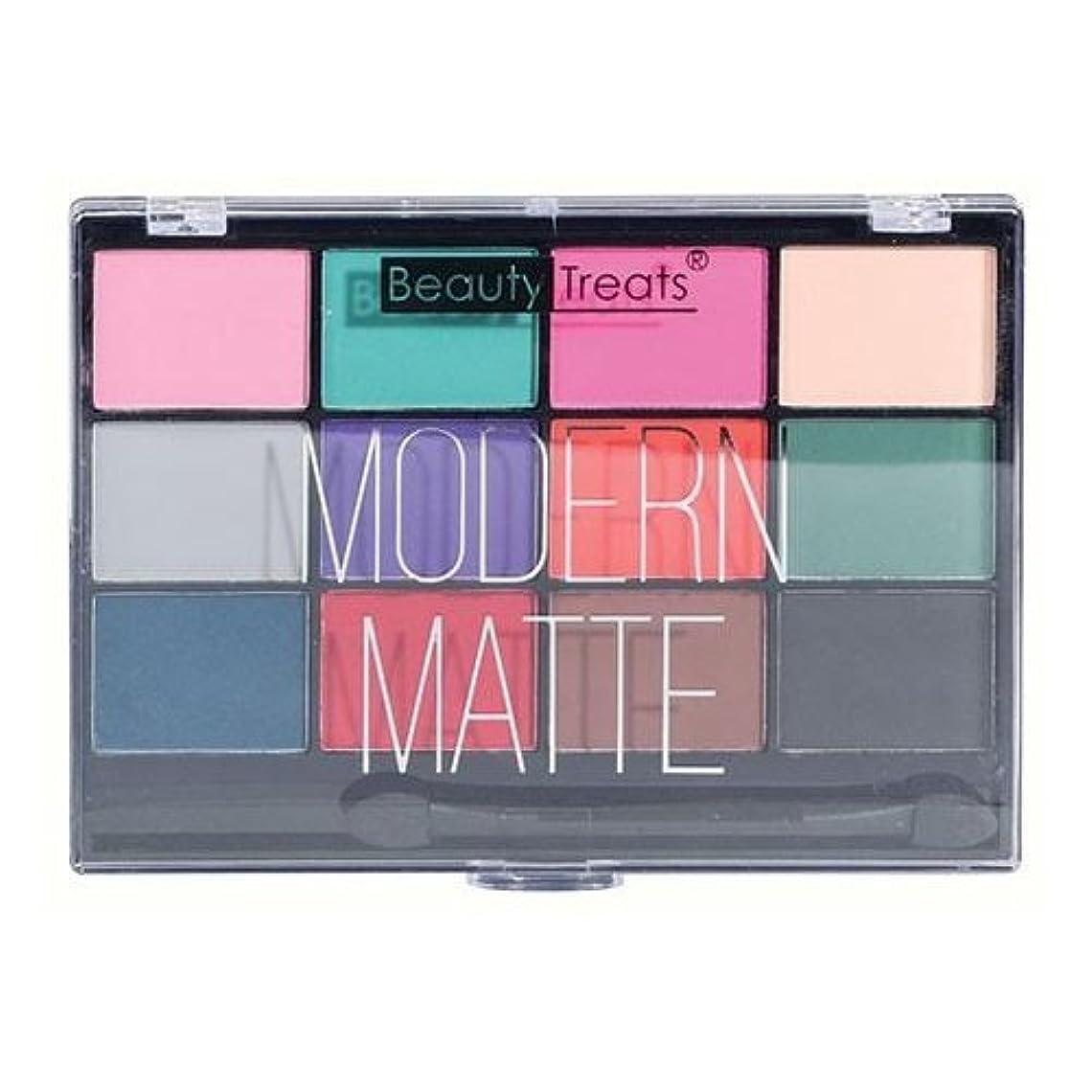 スクラップ神聖忘れっぽいBEAUTY TREATS Modern Matte Eyeshadow - Matte Colors (並行輸入品)