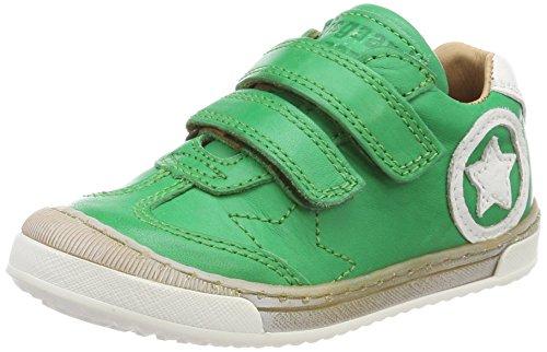 Bisgaard Unisex-Kinder Klettschuhe Sneaker, Grün (Green), 33 EU