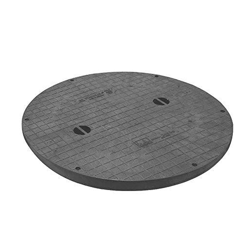 STABIFLEX Abdeckung SOLO XXL-950-200kg Typ1 (mit Griffmulden), Kanaldeckel, Schachtabdeckung, Zisternendeckel, Kunststoff leicht, Abdeckung Zisterne