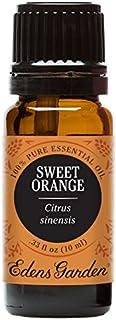 Edens Garden Sweet Orange Essential Oil, 100% Pure Therapeutic Grade (Digestion & Inflammation) 10 ml