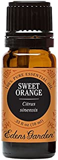 Edens Garden Sweet Orange Essential Oil, 100% Pure Therapeutic Grade (Highest Quality Aromatherapy Oils- Digestion & Inflammation), 10 ml