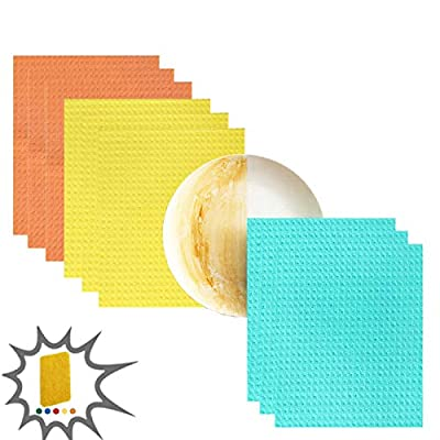 Sponges for Cleaning 9 Pack Dish Clothes for Wa...