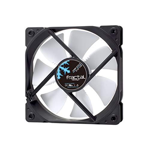 Fractal Design Dynamic X2 GP-12 White, Lüfter für (High End) Gaming PC Gehäuse, weiß