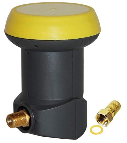 Humax Gold Single LNB - LNB satellitare digitale universale con filtro LTE LNB singolo.
