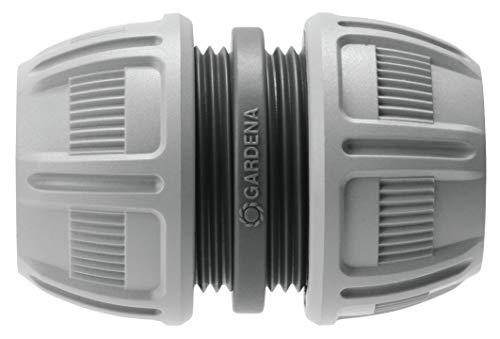 Gardena Reparator-Satz 13 mm (1/2 Zoll) und 15 mm (5/8 Zoll): Schlauchreparatur einfach ohne Werkzeug, Power Grip, speziell geformte Klemmmutter (18280-20)
