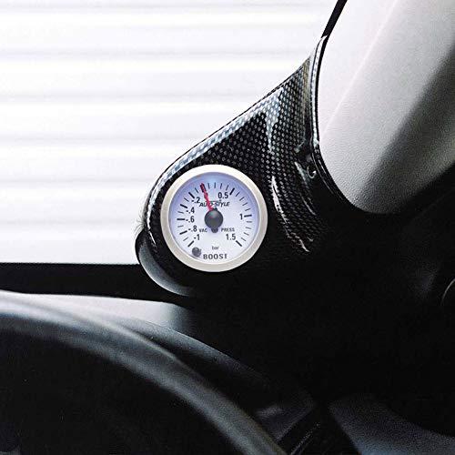RGM PMR191 Instrumenthouder voor Seat Ibiza, vanaf bouwjaar 6/2002, montage op A-zuil, voor voertuigen met het stuur aan de rechterkant, carbon