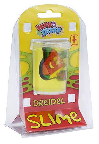 Izzy 'n' Dizzy Dreidel Slime - Hanukkah Gift - Cute Smiley Faced Draidel Hanukah Toy