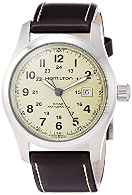 Hamilton Men's Analogue Automatic Watch with Leather Strap H70555523
