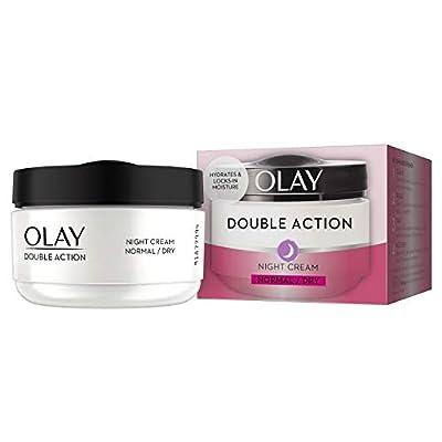 Olay Double Action Moisturiser Night Cream, 50ml by Procter Gamble