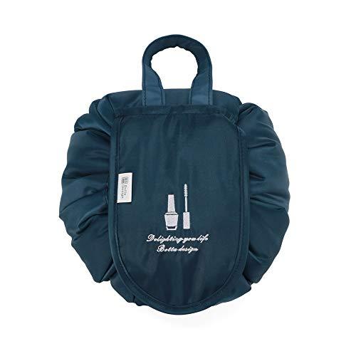 YOUYUANF Almacenamiento Lazy Cosmetic Bag Travel Home Gran Capacidad Impermeable Almacenamiento portátil Bolsa con cordón Bolsa de Lavado de Maquillaje