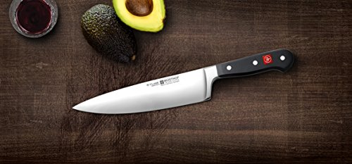 WÜSTHOF Classic 8 Inch Chef's Knife,Black,8-Inch
