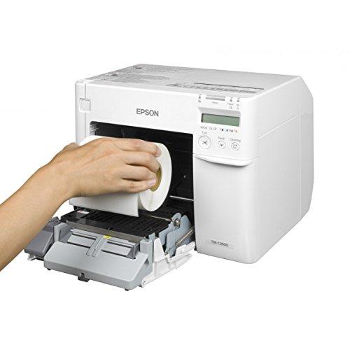 Epson tm-c3500 - Impresora de Etiquetas (inyección de Tinta, 720 x 360 dpi, 103 mm/s, 10,4 cm, Negro, Cian, Magenta, Amarillo, alámbrico).