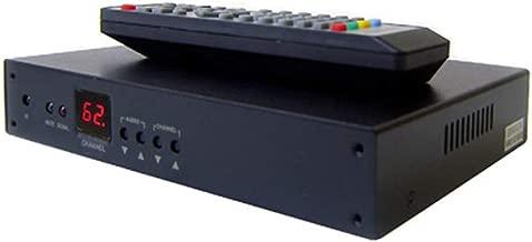 Rack-Mountable Analog Coax RF to HDMI Demodulator CATV NTSC Tuner with IR Remote