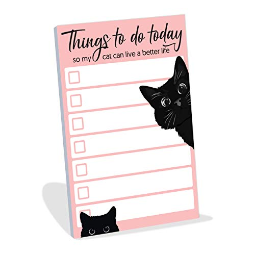 """Funny Cat Small to Do List Sticky Notes 