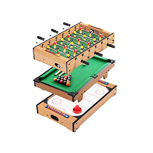 %46 OFF! softneco Mini Foosball Table for Kids,Portable Football Table with Billiards Ping Pong Ball...