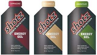 shotz(新KODA)ショッツエナジージェル おためし3味カフェインプラス【補給食説明書付】