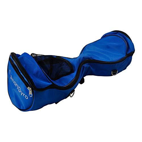 "SmartGyro serie X BAG Blue - Bolsa para patinete eléctrico, compatible con patinetes eléctricos de 6,5"", Nilón, Cremalleras, Bolsillos"