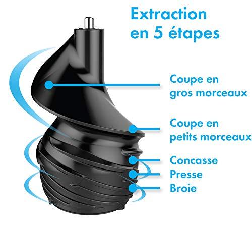Riviera-et-Bar PEJ537 Extracteur de jus Induction