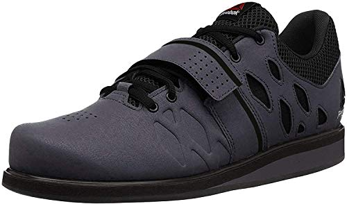 Reebok Men's Lifter Pr Cross-Trainer Shoe, Ash Grey/Black/White, 10 M US