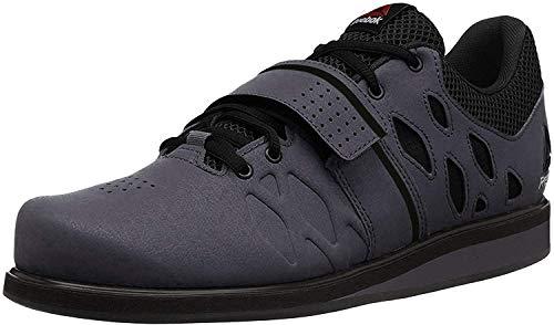 Reebok Men's Lifter Pr Cross-Trainer Shoe, Ash Grey/Black/White, 6.5 M...
