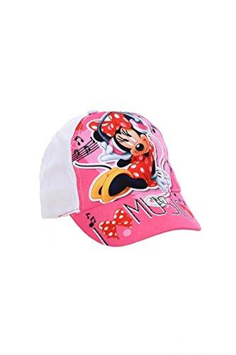 Minnie Disney Mütze mit Visier Mädchen Baseball Gr. 52E 54, Bianco