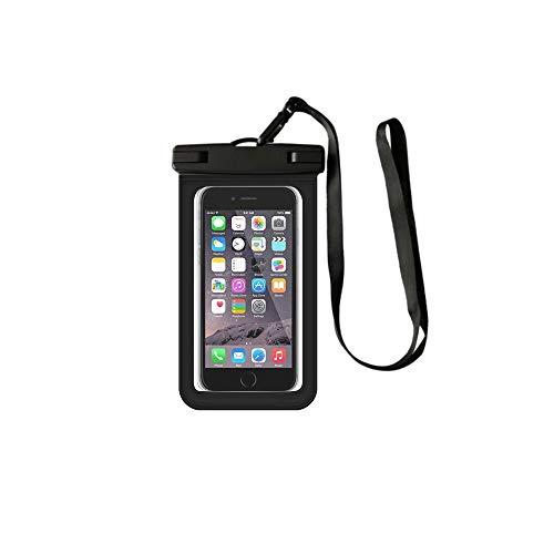SUQ Custodia Impermeabile Smartphone, Universale Custodia Subacquea, compatibilità Ampia, Resistente allo Sporco e alla Polvere Immersioni, Nuoto, Surf 10.5 * 19.5cm