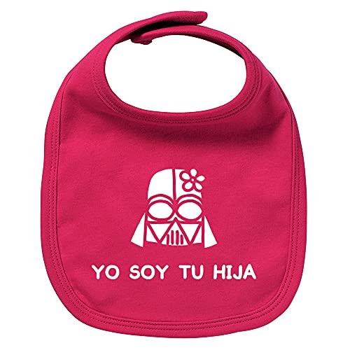 ClickInk Babero de bebé Yo soy tu hija....