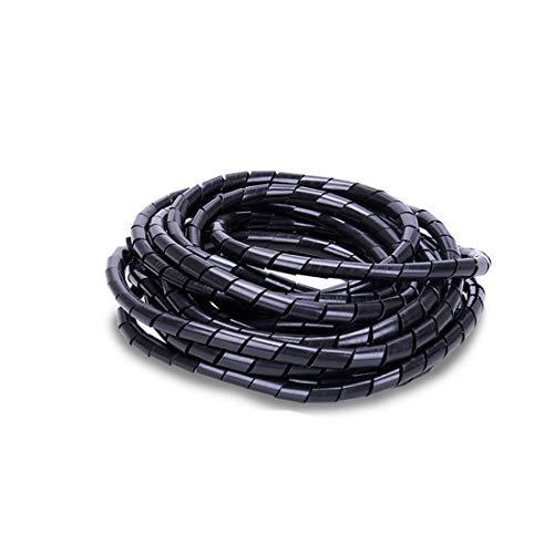 Ordenadas del Cable, para 4-20mm(15.5 Metros) Organizador En Espiral USB Cable La...