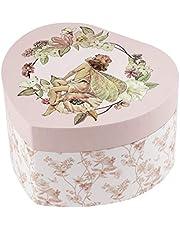 Trousselier - Flower Fairies - Joyero musical - Regalo ideal para niña joven - Schubert Serenade Music - Color rosa - 2 unidades S30617