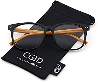 Happy Store CN81 Large Oversized Bold Frame UV 400 Clear...