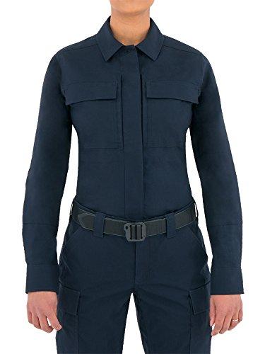 First Tactical Tactix Series Chemise à Manches Longues pour Femme, 121001, Bleu Marine, m