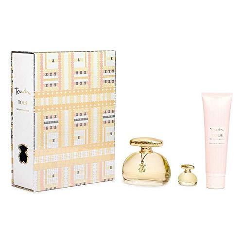 Set de Perfume Mujer Touch The Original Gold Tous EDT (3 pcs) Perfume Original | Perfume de Mujer | Colonias y Fragancias de Mujer