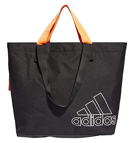 adidas Damen Freizeit-Fitness-Tragetasche Sports Canvas Tragetasche schwarz