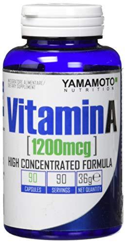 Vitamin A 1200mcg Integratore di Vitamina A - 90 Capsules, 36 gr