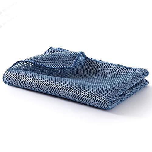 Detailers United - Professionele kwaliteit pluche Multi Purpose Wafel Auto Detailing Handdoek: Bufferen - Polijsten - Drogen - Waxen - Reinigen - Valet 50 x 70 cm
