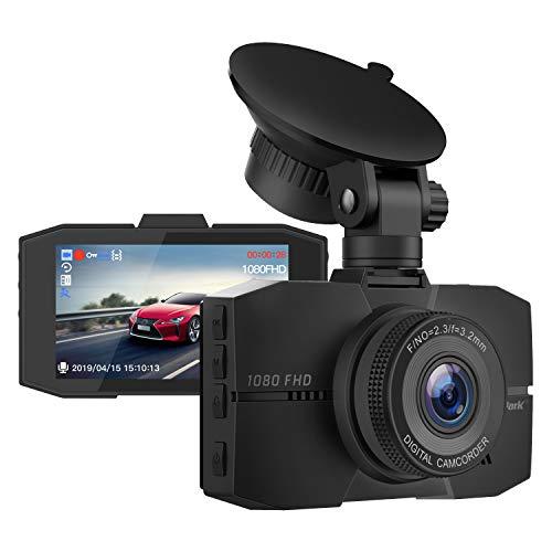 Campark Dash Cam 1080P Full HD DVR cámara de salpicadero para coches con...