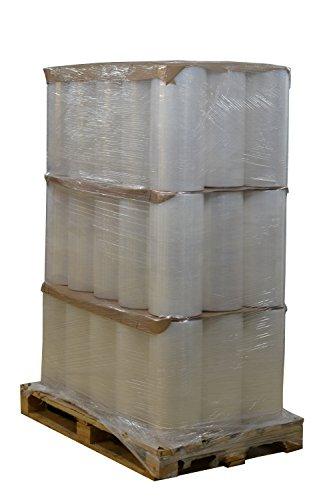 Beste-Folie 1 pallet 40x rollen machine-stretchfolie 17,5 kg transparant 20µm transparant