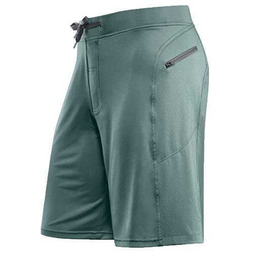 2020 Gym Shorts Hommes Formation Fitness Sport Shorts Courir Hommes D'été Shorts De Plage Pantalon Court Light Green XL