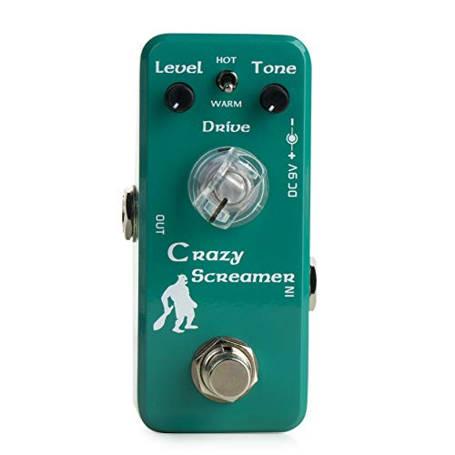 Movall by Caline MP-315 Crazy Screamer Mini Overdrive Guitar Effects Pedal