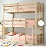 SAFA Bunkbed Triple Sleeper Bunk bed 3 Tier 3ft