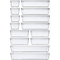 14-Count DCA Plastic Drawer Organizer Tray