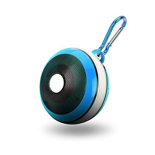 Byx- draadloze Bluetooth luidspreker - kleurrijke lichte subwoofer-kaart draagbare mini luidspreker voor buiten blauw/geel/roze Optioneel @