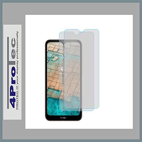 4ProTec   2X Bildschirm-Schutz-Folie MATT für Nokia G10 Dual SIM