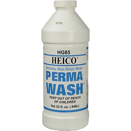 Heico Perma-Wash, Archival Black & White Film and Paper Pre-Wash, 1 Qt. Makes 11 Gallons
